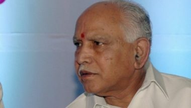 Tablighi Jamaat Event: 1,300 Tablighis from Karnataka Attended Delhi's Nizamuddin Markaz Meet, Says CM BS Yeddyurappa